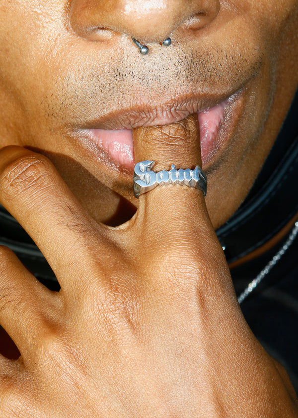 Bruce LaBruce Saint Ring by Jonathan Johnson