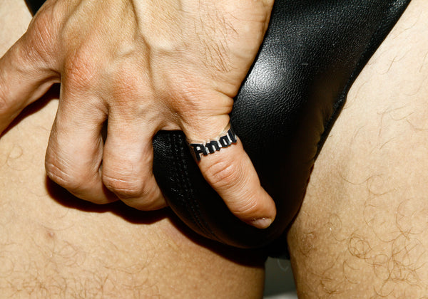 Bruce LaBruce Anal Ring by Jonathan Johnson