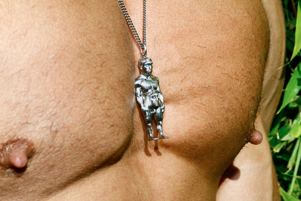 Bjarne Melgaard x Bjørg Son of a Dad Necklace