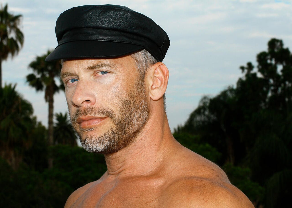 Tom of Finland x Costo JAIR Black Leather Cap
