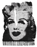 Andy Warhol, Marilyn, 1967 (Kalix Night Frozen Cut Edit): Henzel Studio Heritage Art Rug