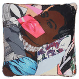 Mickalene Thomas Clarivel Centered Pillow for Henzel Studio