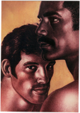 Mustache Duo - Tom of Finland Postcard