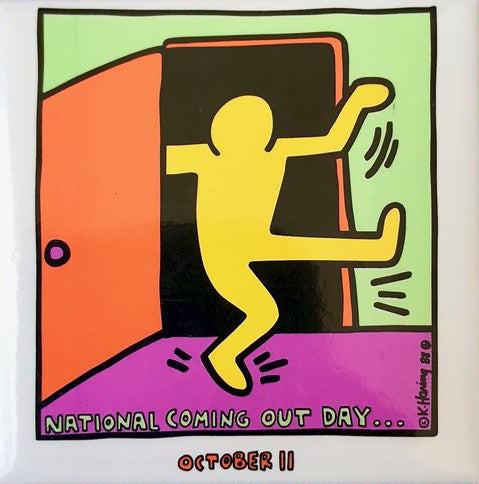 Keith Haring National Coming Out Day Magnet