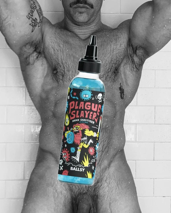 Plague Slayer Hand Sanitizer by Ballsy