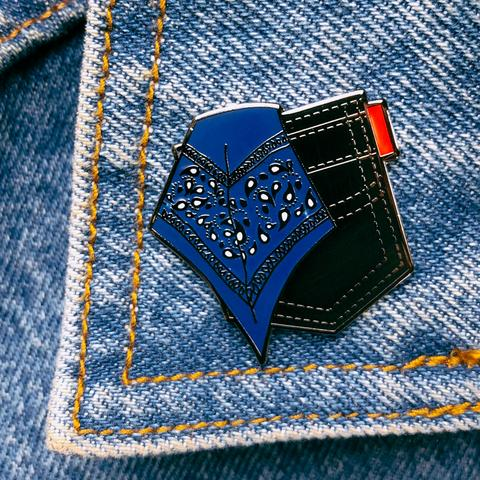 Blue Hanky Pin By Starrfucker Magazine