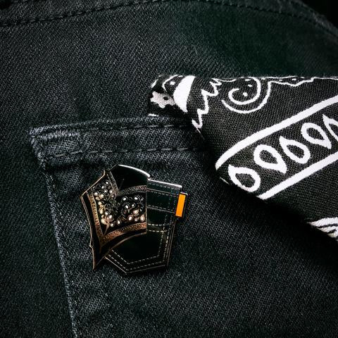 Black Hanky Pin By Starrfucker Magazine