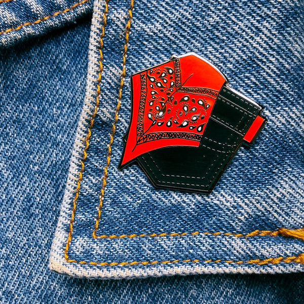Red Hanky Pin By Starrfucker Magazine