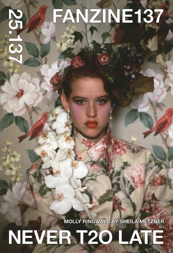 NEVER T2O LATE (Vol.2) // COVER: Molly Ringwald by Sheila Metzner