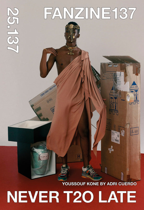NEVER T2O LATE (Vol.2) // COVER: Youssouf One by Adri Cuero