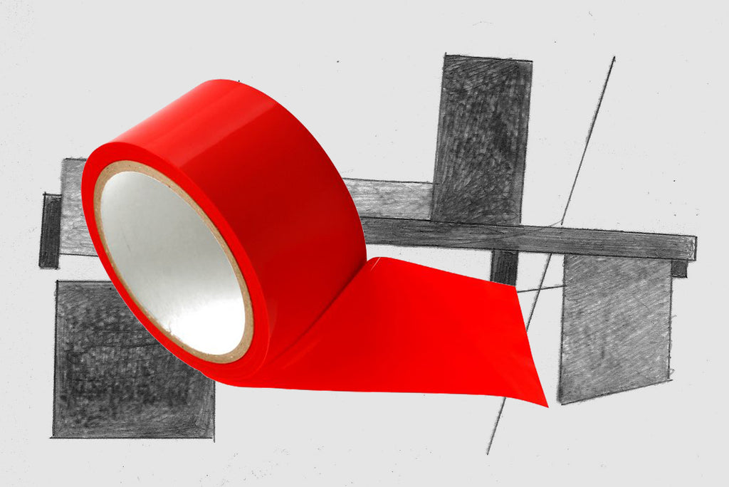 Red Bondage Tape