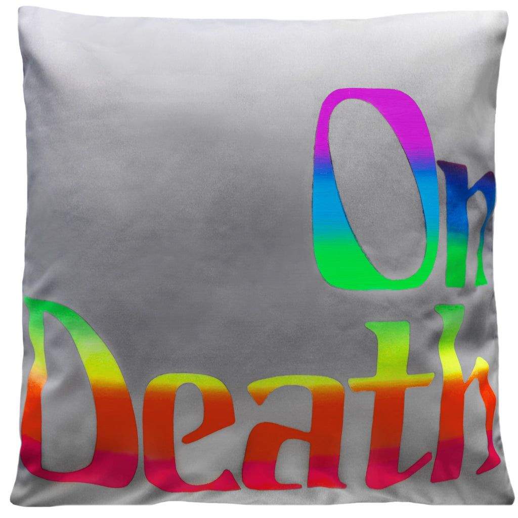 Richard Phillips On Death Pillow for Henzel Studio