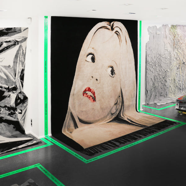 Richard Phillips: Henzel Studio Collaborations Art Rug