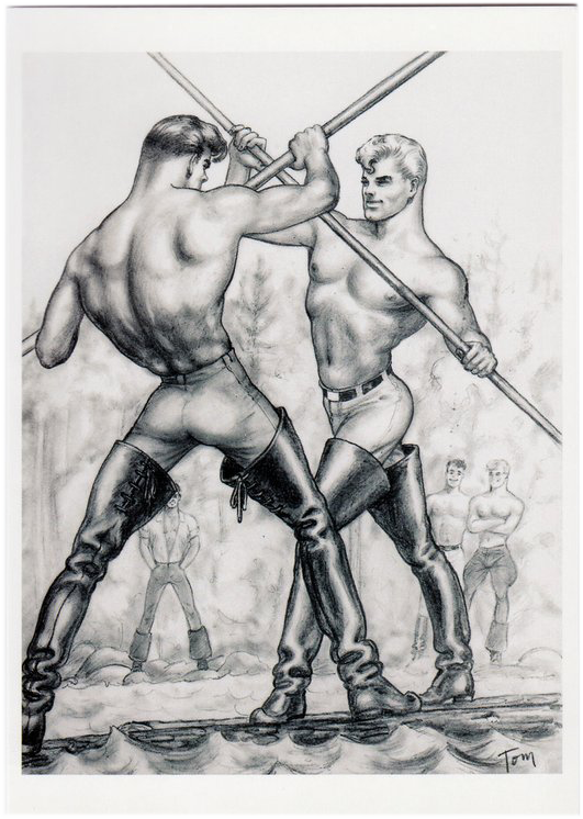 River Duo - Tom of Finland Postcard
