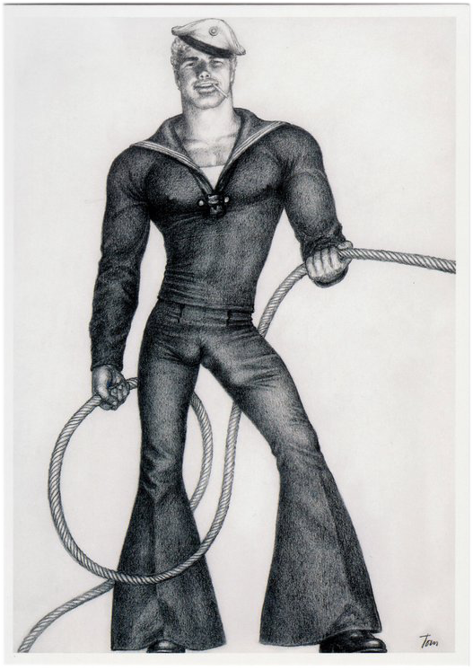 Rope - Tom of Finland Postcard