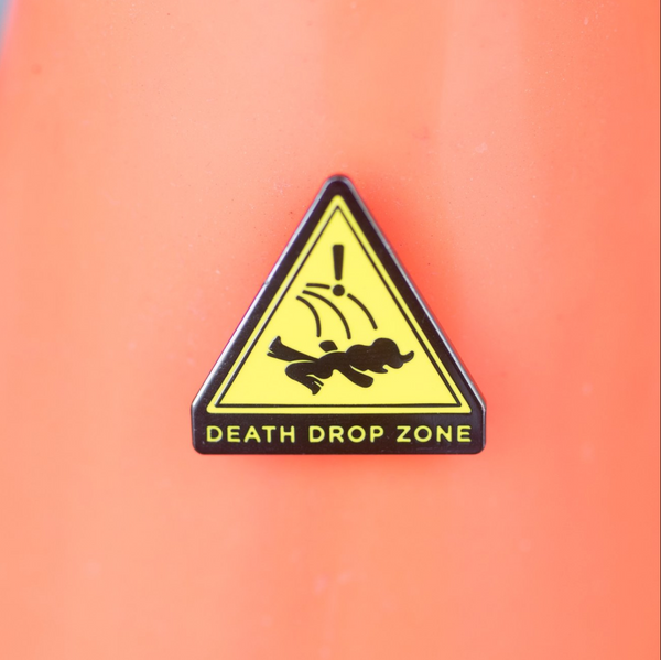 Death Drop Zone Pin by Gaypin'