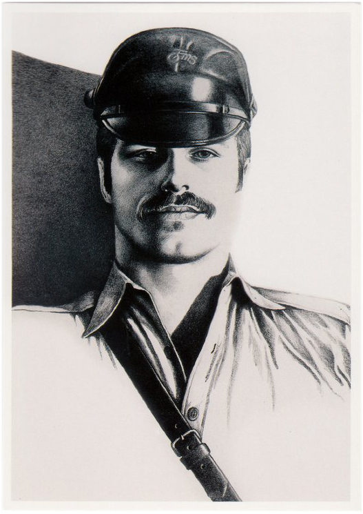 Soldier - Tom of Finland Postcard