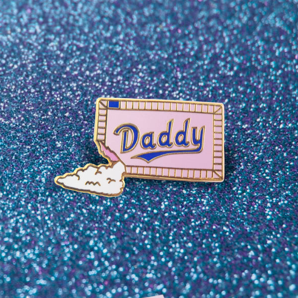 GAYPIN' ENAMEL PIN: SUGAR DADDY