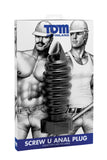 Tom of Finland Screw U Anal Plug