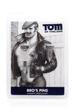 Tom of Finland Magnetic Screw Nipple Clamps
