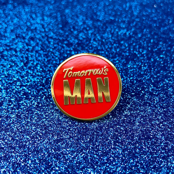 Jack Pierson Tomorrow's Man Enamel Pin