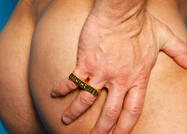 Bruce LaBruce Obscenity Double Ring by Jonathan Johnson