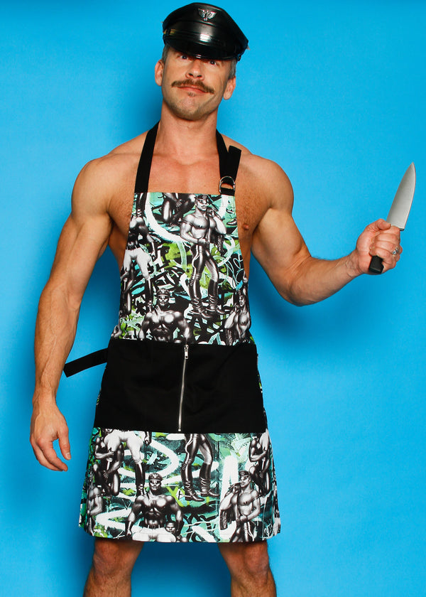 Tom of Finland Street Style Kitchen Apron by Finlayson