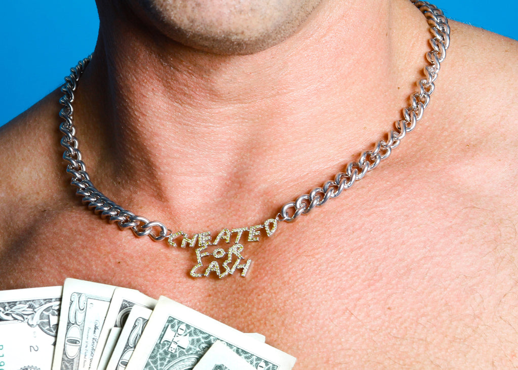 Bjarne Melgaard x Bjørg Cheated for Cash Necklace