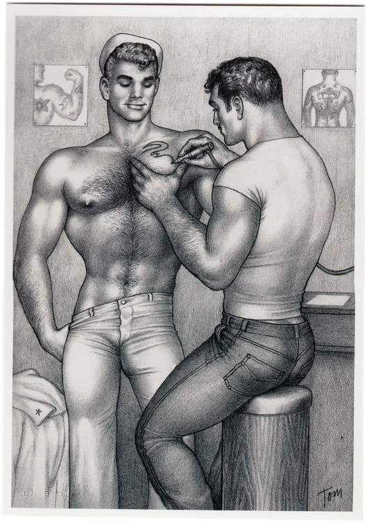 Tattoo - Tom of Finland Postcard