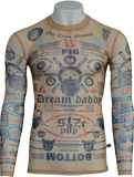 Tattoo Long Sleeve T-Shirt by Walter Van Beirendonck