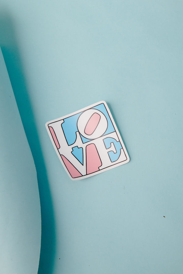 Trans Love Sticker by The Found