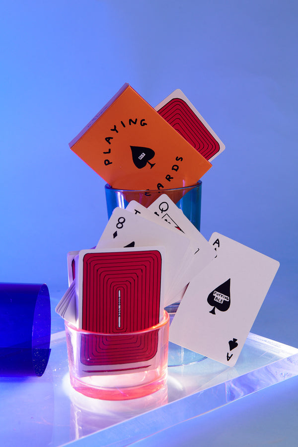 Playing Cards by David Shrigley x Third Drawer Down