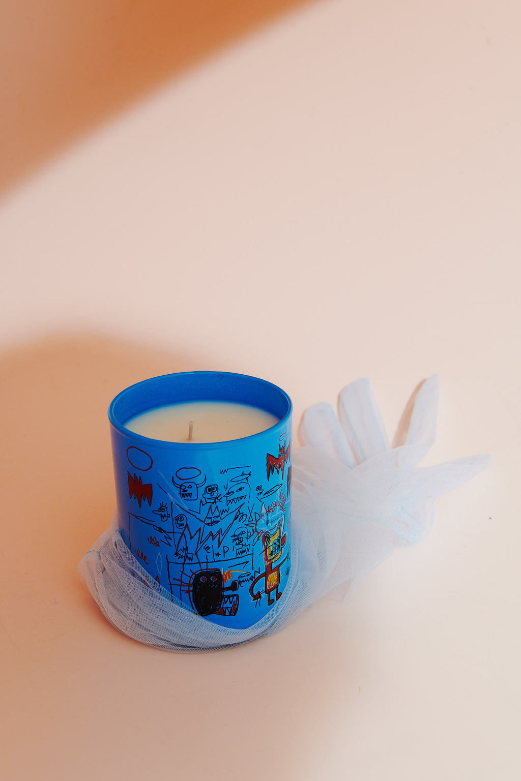 "Jean-Michel basquiat ""Bats"" PERFUMED CANDLE"