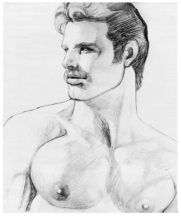 Henzel Studio Heritage: Tom of Finland, Untitled, 1980, Handtufted Rug