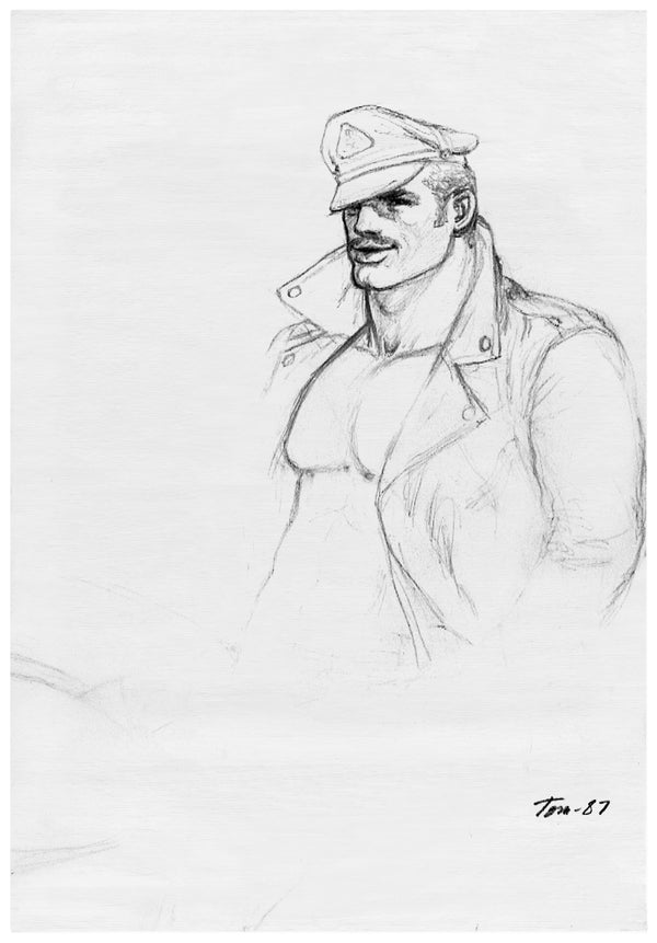 Henzel Studio Heritage: Tom of Finland, Untitled, 1987, Handtufted Rug