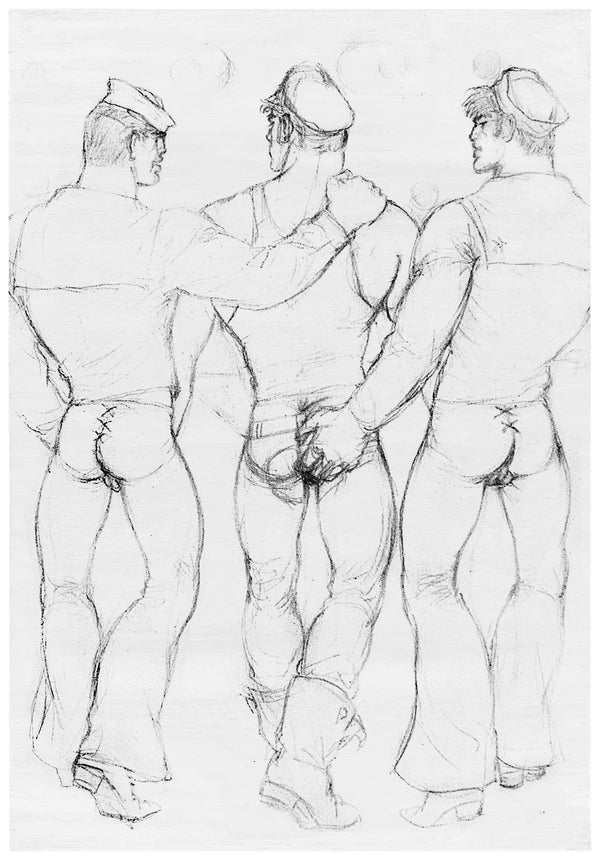Henzel Studio Heritage: Tom of Finland, Untitled, 1965, Handtufted Rug