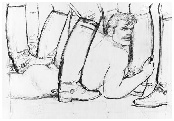 Henzel Studio Heritage: Tom of Finland, Untitled, 1982, Handtufted Rug