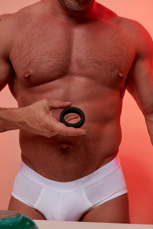The ROCCO Steele Hard Cock Ring by Perfect Fit