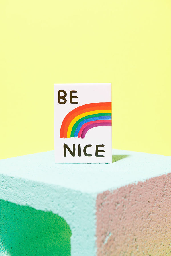 Be Nice Magnet Third Drawer Down X David Shrigley
