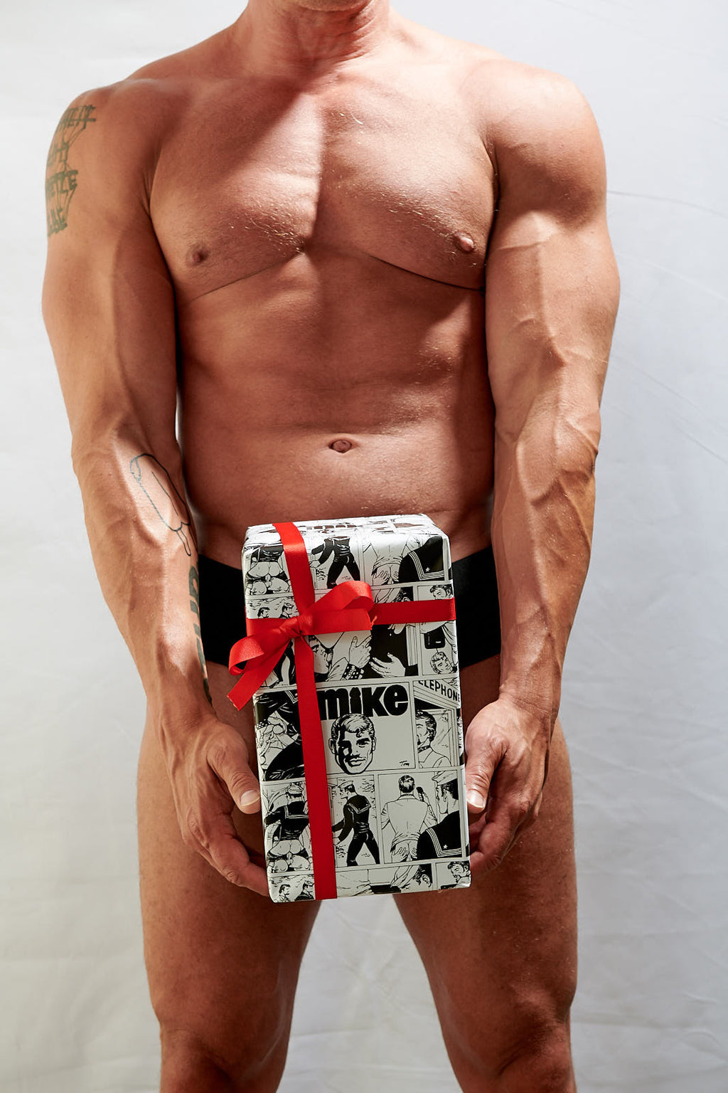 Tom of Finland Wrapping Paper: MIKE