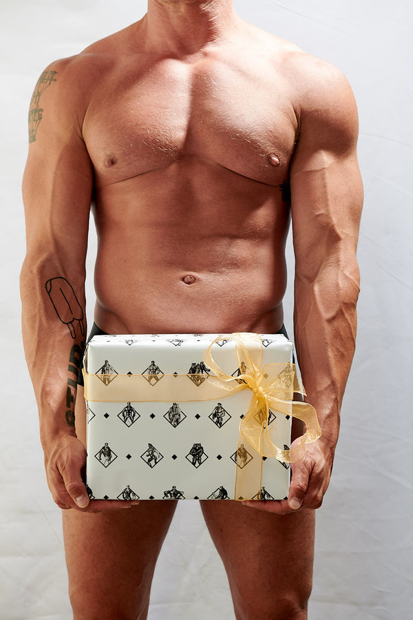 Tom of Finland Wrapping Paper: Tom Diamonds for the diamond