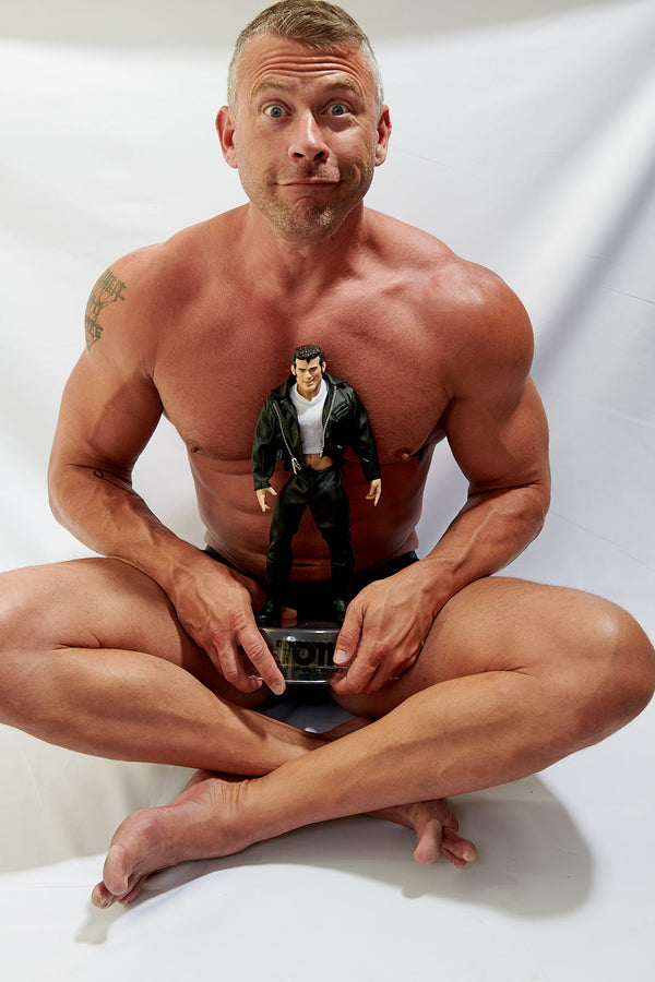 Tom of Finland Vintage Action Figure with Interchangeable Parts