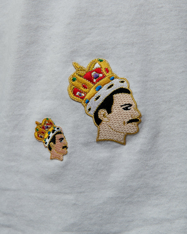 Freddie Mercury Iron on Patch by The Found