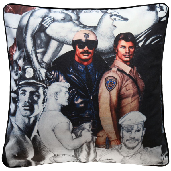 Henzel Studio Heritage: Tom of Finland Art Pillow