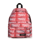 Red Fragile Backpack by Andy Warhol x Eastpak