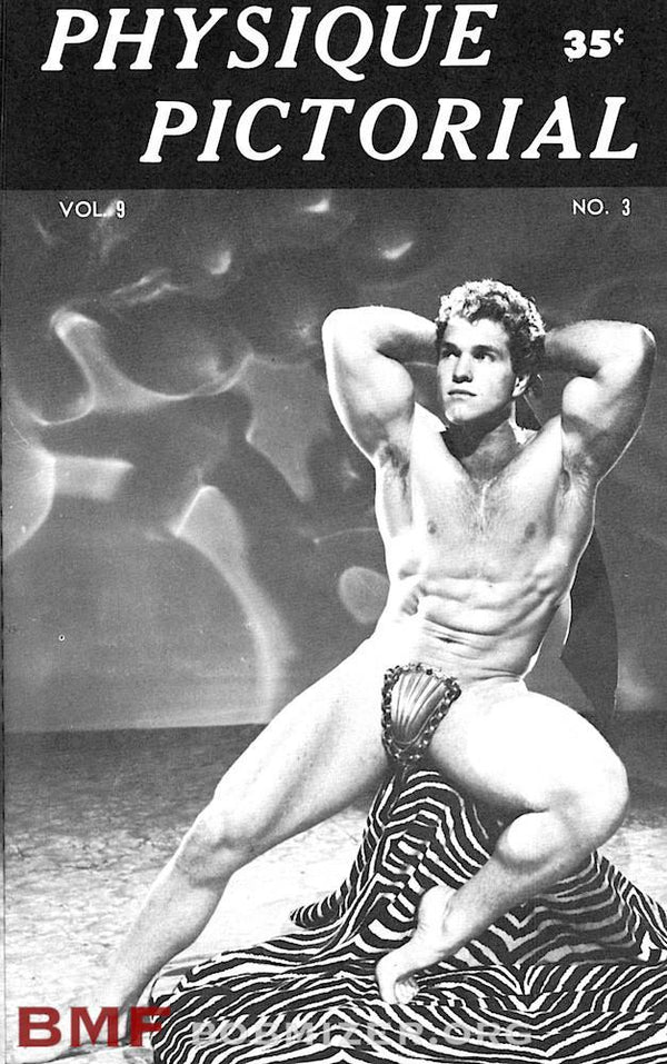 Vintage Physique Pictorial - Volume 9 Issue 3