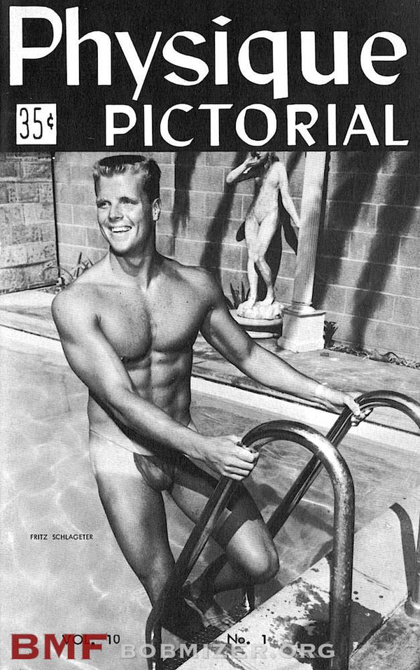 Vintage Physique Pictorial - Volume 10 Issue 1
