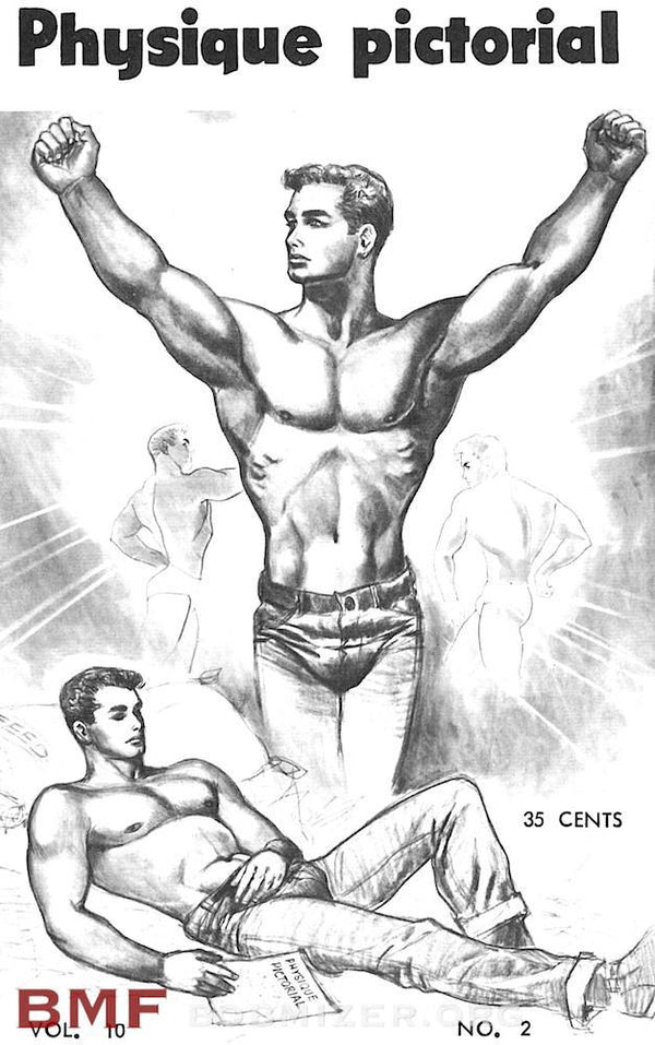 Vintage Physique Pictorial - Volume 10 Issue 2