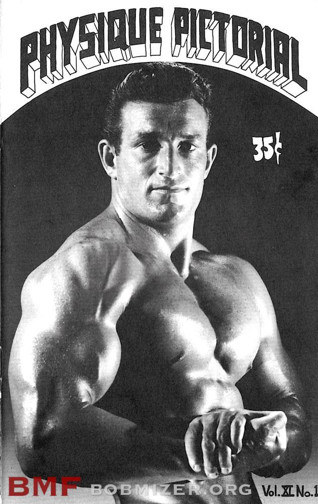 Vintage Physique Pictorial - Volume 11 Issue 1