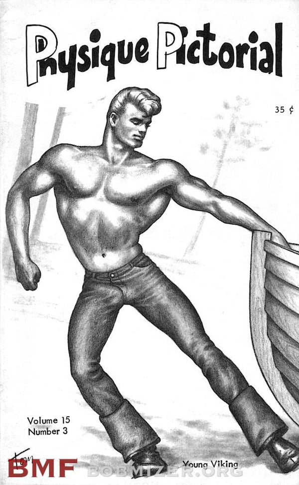 Vintage Physique Pictorial - Volume 15 Issue 3
